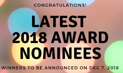 Announcing the Nominations for the MPMSDC 2018 Awards